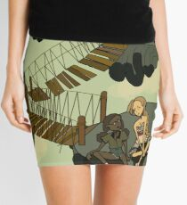 Floating Islands  Mini Skirt
