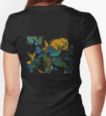 Fishing ecology Women's Fitted T-Shirt