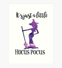 It's Just a Little Hocus Pocus Art Print