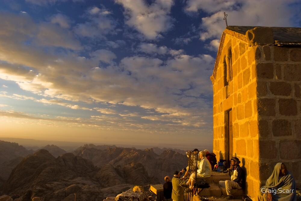 Mount Sinai, Egypt by Craig Scarr