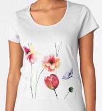 Beautiful spring flowers Women's Premium T-Shirt