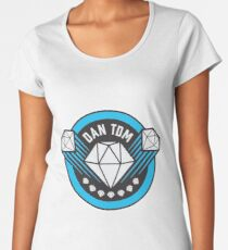 DANTDM NEW LOGO!!!!!!!! [BEST QUALITY] Women's Premium T-Shirt