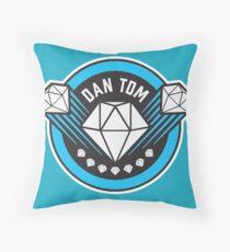 DANTDM NEW LOGO!!!!!!!! [BEST QUALITY] Throw Pillow