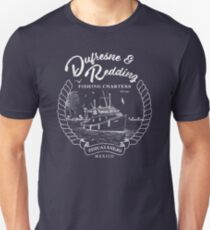 Dufresne und Redding Hope Fishing Charters Variante Unisex T-Shirt