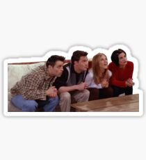 Friends TV Show Attention Funny Sticker Sticker