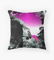 Psychedelic rock formation Throw Pillow