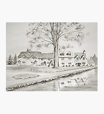 Cottages II Photographic Print