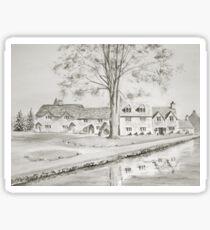 Cottages II Sticker