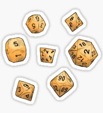 Rolling the Dice Sticker