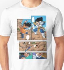 Dragon Ball Z - Goku Versus Vegeta Manga T-Shirt