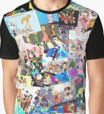 Best Anime Collage Pics Graphic T-Shirt
