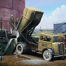 Fordson cement lorry. by Mike Jeffries