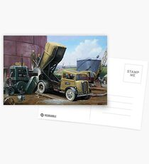 Fordson cement lorry. Postcards