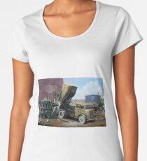 Fordson cement lorry. Women's Premium T-Shirt