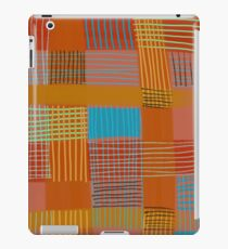 Patchwork 1 Geometric Graphic Abstraction iPad Case/Skin