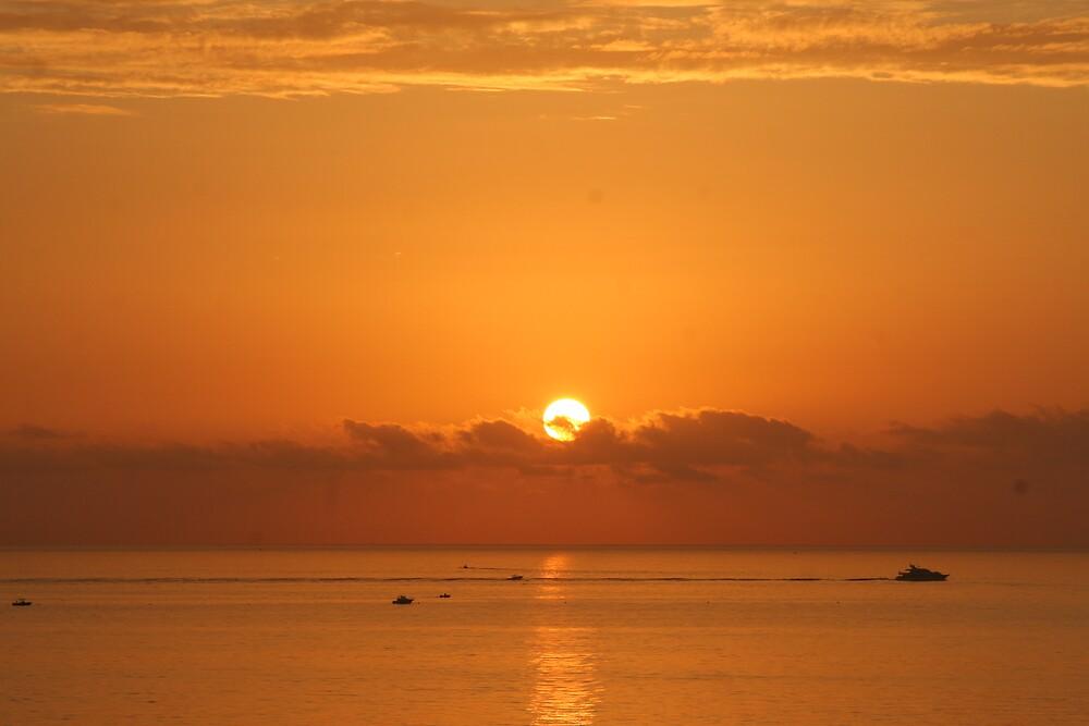 Atlantic Sunrise by wbwilliamsdmd
