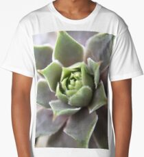 Beautiful Succulent  Long T-Shirt
