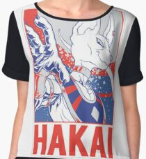 Dragon Ball Super -  Beerus Hakai (Destruction) Women's Chiffon Top