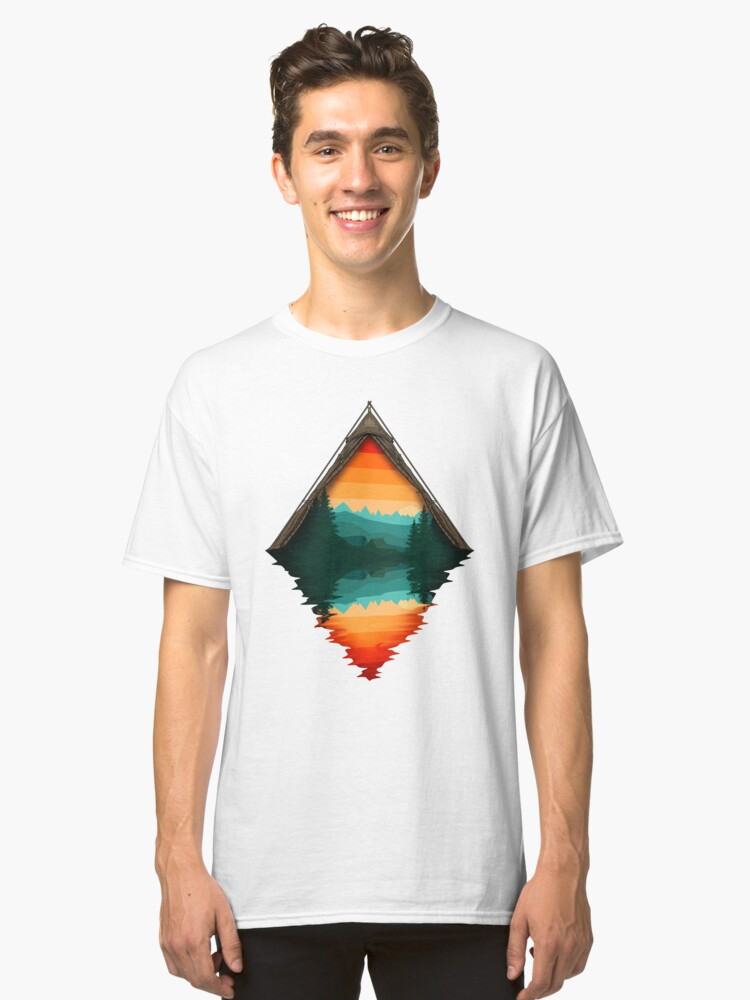 Camp Nature Classic T-Shirt Front