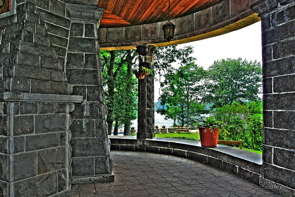 """""""Boldt Castle"""" A View From The Inside Out by SueAnne"""