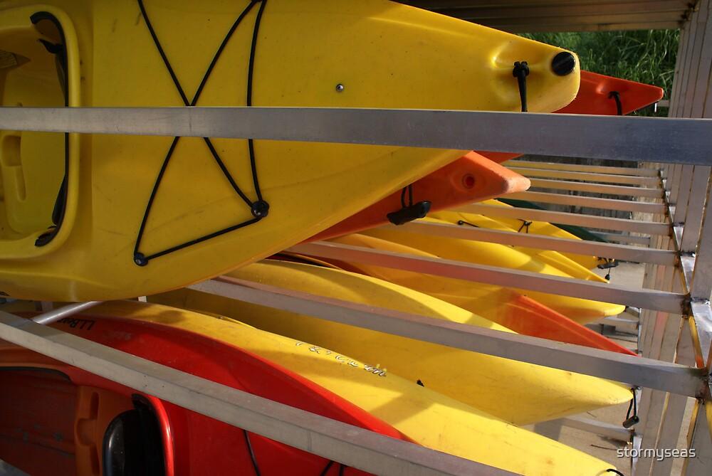 Kayak racks by stormyseas