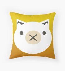 Pi Piggy  Throw Pillow