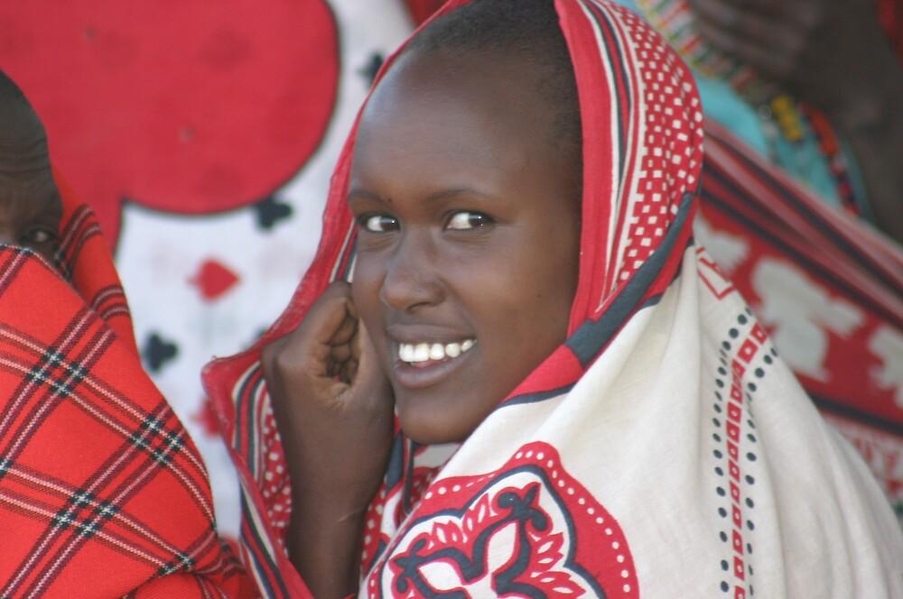 Masai Beauty in Morijo by wbwilliamsdmd