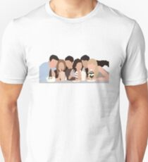 Friends TV Show Milkshake Minimalist T-Shirt