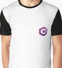 C# Sharp logo Graphic T-Shirt