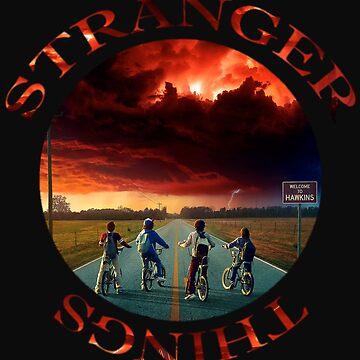 stranger things  by kadangduduk