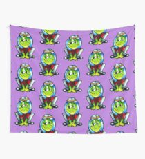 the frog Prince 00 Wall Tapestry