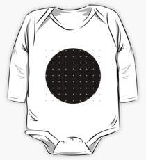 Body de manga larga para bebé Black & Dots