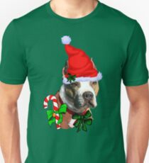 American Pit Bull Terrier Christmas Gifts T-Shirt