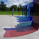 Naval Memorial, National Memorial Arboretum by lezvee