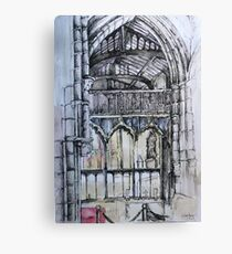 Inside Leicester Cathedral  Canvas Print