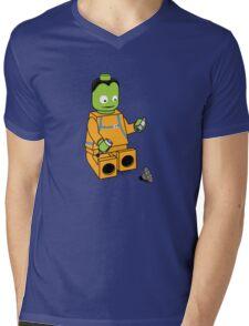 Space Legos Mens V-Neck T-Shirt
