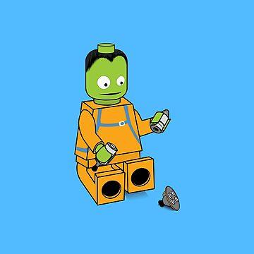 Space Legos by veyda92