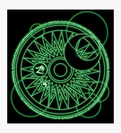 Magic Circle Photographic Print