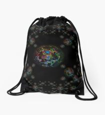 Rainbow Bubble Drawstring Bag