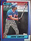 310 - Andre Dawson by Foob's Baseball Cards
