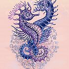 Seahorse Tattoo by Ruta Dumalakaite
