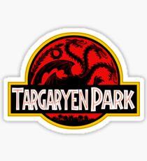 Targaryen Park Sticker