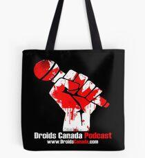 Droids Canada Podcast Logo Tote Bag
