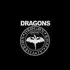 Dragons, Game of Thrones Viserion, Drogon, Rhaegal logo by MazzaLuzza