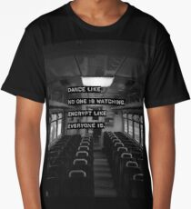 Encrypt like everyone is watching (B&W BG) Long T-Shirt