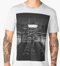 Encrypt like everyone is watching (B&W BG) Men's Premium T-Shirt