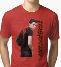 Tom Holland  Tri-blend T-Shirt