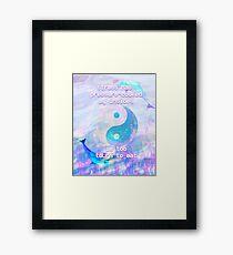 Seapunk Stress Relief  Framed Print