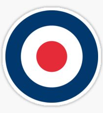 United Kingdom Royal Air Force Insignia (Roundel) Sticker