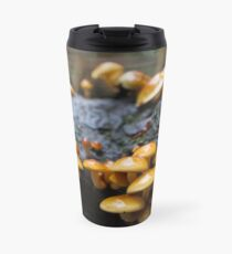 Mushrooms in the Forest Travel Mug